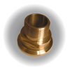 "2"" ChemAire Ball Valve End Connectors Brass MPT"
