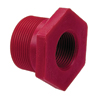 "2"" x 1"" Red. Bushing Sch 80 Red Kynar® PVDF Thd"