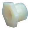 "2"" x 1"" Red. Bushing Sch 80 Nat. Kynar® PVDF Thd"