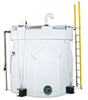 "4000 Gal Captor Containment System Tank, 102"" Dia, HDLPE 1.5 Sp. Gr."
