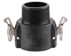 "3/4"" PP Cam Lever Coupling - MPT x Coupler"