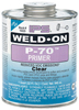 1/2 Pint IPS Weld-On P-70™ PVC/CPVC Primer Clear