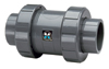 "3"" TU Ball Check Valve CPVC/Viton® Soc"