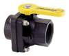 "2"" Stubby Full Port Ball Valve, FPT x Adapter"