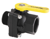 "2"" Stubby Full Port Ball Valve, MPT x FPT"