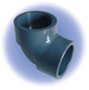 PVC Sch 80 90° Elbow - Soc x Thd