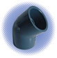 PVC Sch 80 45° Elbow - Soc x Soc