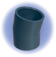 PVC Sch 80 11-1/4° Elbow - Soc x Soc