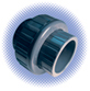 PVC Sch 80 Union - Soc x Soc - Viton® Seal
