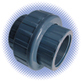 PVC Sch 80 Union - Soc x Thd - Viton® Seal