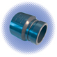 PVC Sch 80 Coupling Adapter - Soc x Groove